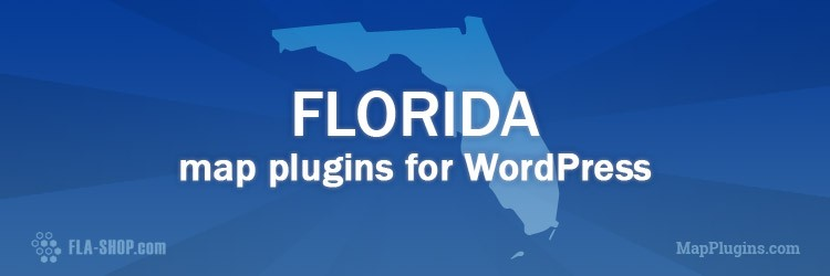 Free Interactive Florida Map For Wordpress
