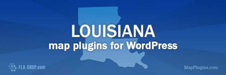 interactive louisiana map