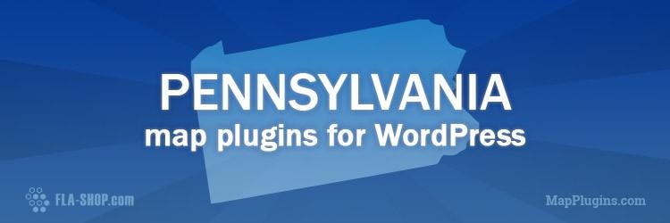 interactive pennsylvania map