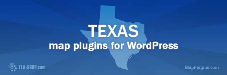 Free Interactive Texas Map for WordPress
